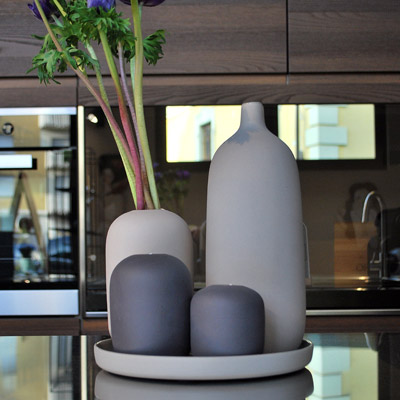 Finest loov design modena vasi in ceramica con interno - Vasi da interno design ...