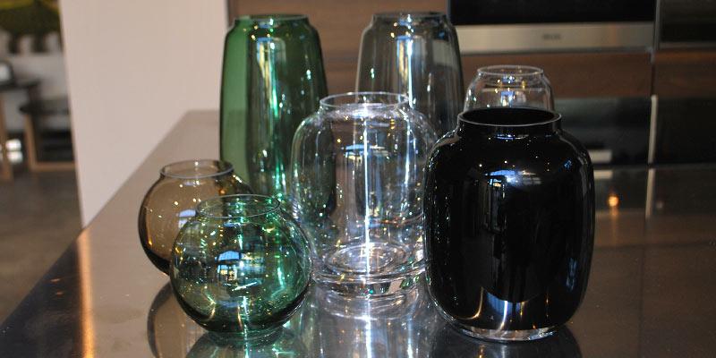 loov design modena - regali di natale 2017 - vasi in vetro soffiato