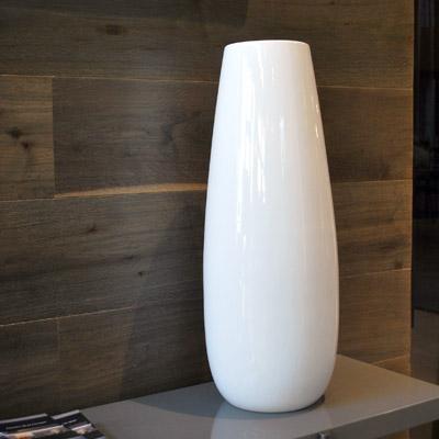 Loov Design Modena - Vaso in ceramica bianco, idea regalo Natale 2016