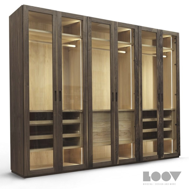 Loov Design - Armadio four season glass Riva 1920